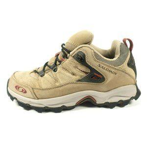 Salomon Leather Trail Hiking Shoes